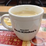 Coffee report in First Kitchen ~ munejyuka diary -2012/1/26