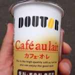 I bought a Doutor cafe au lait at a convenience store ~ ​​munejyuka diary