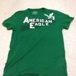 関東遠征の際、アメリカンイーグル•アウトフィッターズでTシャツを買ったねん〜munejyuka日記