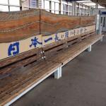 JR日豊本線•中津駅ホームの日本一長いイスがカッコよ過ぎる!