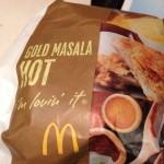 マクドの期間限定ハンバーガー、ゴールドマサラをしばく!〜munejyuka日記