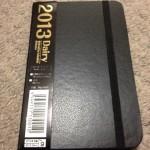 ダイソーで2013年の手帳を買ったねん~munejyuka日記