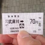 阪神電車の小人の切符を買ったねん〜munejyuka日記