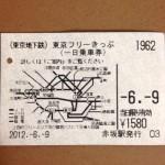 大阪人も大満足!東京遠征の際、東京フリーきっぷを使ってみたねん〜munejyuka日記