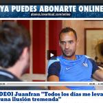 我らがjunafran、Levanteのホームページでインタビューが出てるぞ!