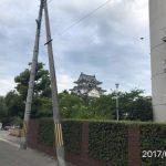 今日は岸和田城を観るためにっ!