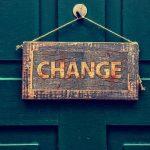 N'ayez pas peur du changement! Faisons un pas en quelque sorte!
