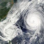 Samstagmorgen, 18. September 2021 Wie hoch ist die Verkehrsbelastung auf den Schnellstraßen in der Region Kinki? Taifun Nr. 14 zieht vorbei!